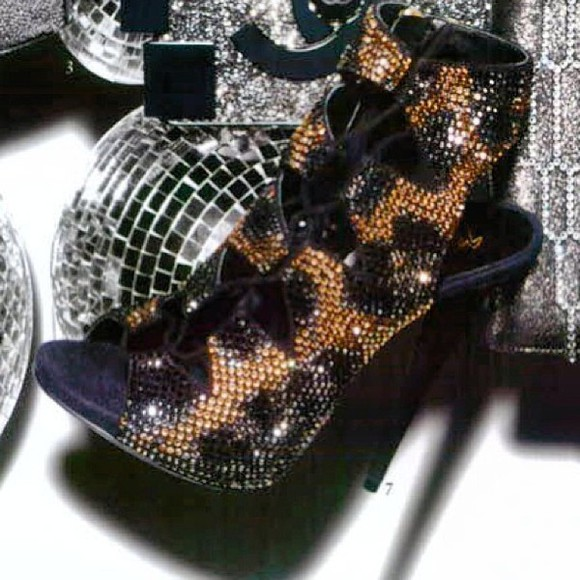 rhinestone shoes boots