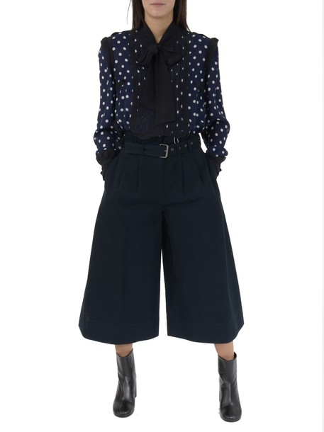 MAISON MARGIELA pants cropped pants cropped dark blue dark blue