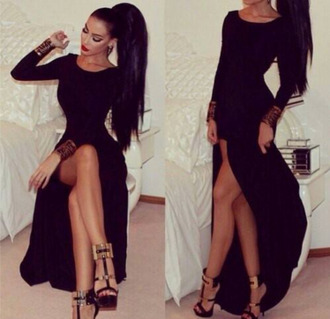 dress black little black dress party dress maxi dress prom dress shoes bodycon dress backless dress backless prom dress