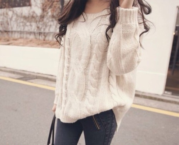 sweater weheartit girl