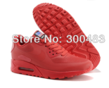 Nike Air Max 90 HYP Hyperfuse 2014 Women Prm American Flag RED running shoes,