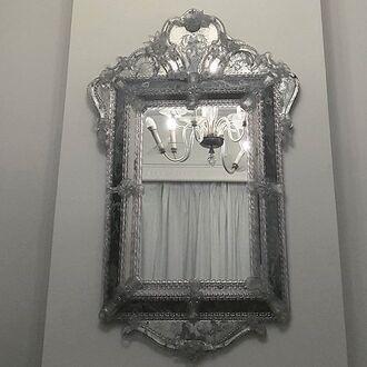 home accessory ice silver clear mirror cute fantasy lolita monochrome kawaii kawaii dark kawaii grunge pale pale grunge soft grunge elegant