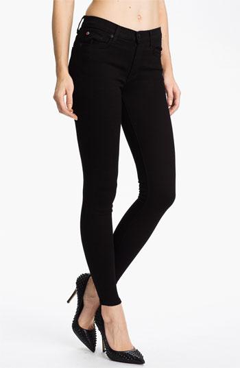 Hudson Jeans Womens Nico Midrise Super Skinny Stonewash Jeans