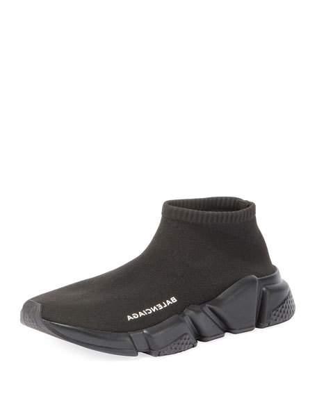 506eed9c87f Balenciaga Low Knit Platform Trainer Sneaker