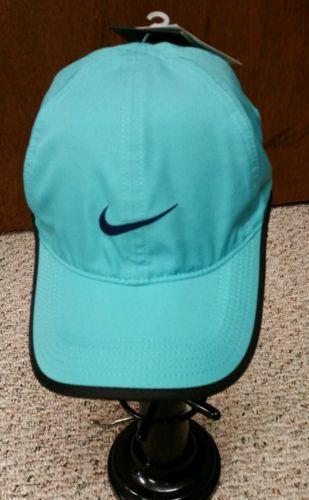 Nike Adult Unisex Dri Fit Featherlight Tennis Cap Hat Aqua Blue Color ... dbb7535fc6c