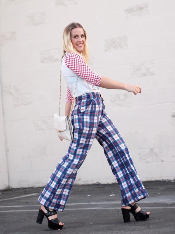 b. jones style blogger t-shirt bag pants shoes