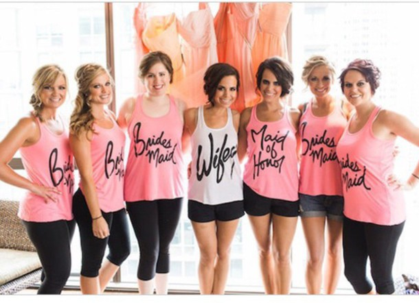 shirt tank top wedding bridesmaid tank top bridesmaid tank tops bachelorette party beach cover up swimsuit cover up