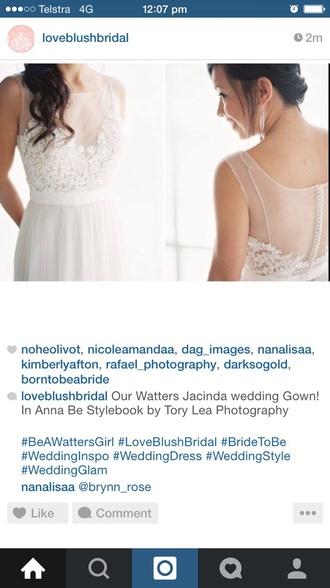 dress beawatersgirl bridal wedding   waters   bridal dress wedding dress bridal gown wedding clothes bridesmaid
