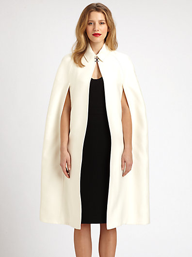 Burberry Prorsum - Cotton/Silk Cape - Saks.com