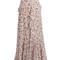 Alison floral-print silk-voile maxi skirt