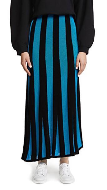skirt black turquoise