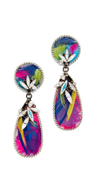 birds earrings jewels