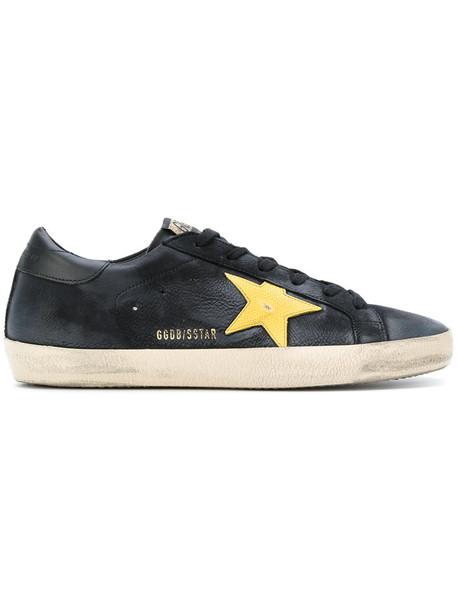 Golden Goose Deluxe Brand - Superstar sneakers - women - Nubuck Leather/Leather/rubber - 35, Black, Nubuck Leather/Leather/rubber