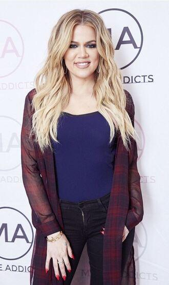 jeans top khloe kardashian shirt