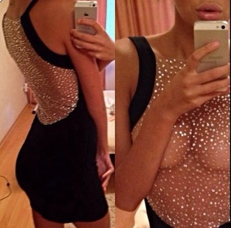 body bodysuit fashion black dress dope style bodycon dress fancy tumblr outfit bodycon skirt see through dress sequin dress going out tumblr dress