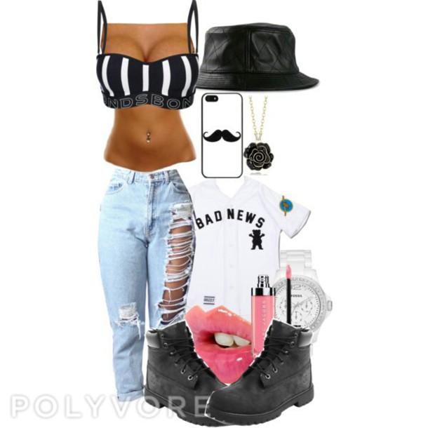 shirt jersey tee shirt crop tops bucket hats timberlands boots pants tank top shoes phone cover