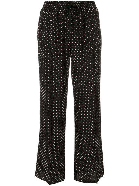 Twin-Set women black pants