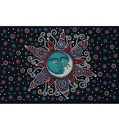 home accessory,sun moon tapestry,indian tapestry,bedding,bedsheet,tapestry,beautiful tapestry,printed wall tapestry,boho,wall decor,home decor,psychedelic tapestries,dorm decor wall tapestry