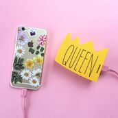 phone cover,yeah bunny,dry,flowers,iphone case,pale,sweet