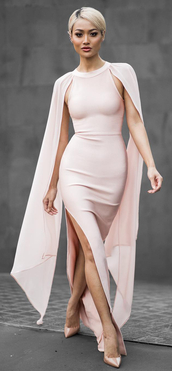 dress,dream it wear it,clothes,pin,pink,pink dress,maxi,maxi dress,cape sleeve,slit dress,slit,bodycon,bodycon dress,long dress,long prom dress,long evening dress,prom,prom dress,pink prom dress,long gown,gown,prom gown,evening outfits,evening dress,formal,formal dress,formal event outfit,mesh,mesh dress,party outfits,summer dress,party dress,sexy party dresses,sexy,sexy dress,sexy outfit,summer outfits,pool party,classy dress,classy,elegant,elegant dress,cocktail dress,date outfit,birthday dress,summer holidays,cute,cute dress,girly,girly dress,romantic,romantic dress,romantic summer dress,clubwear,club dress,graduation dress,quinceanera dress
