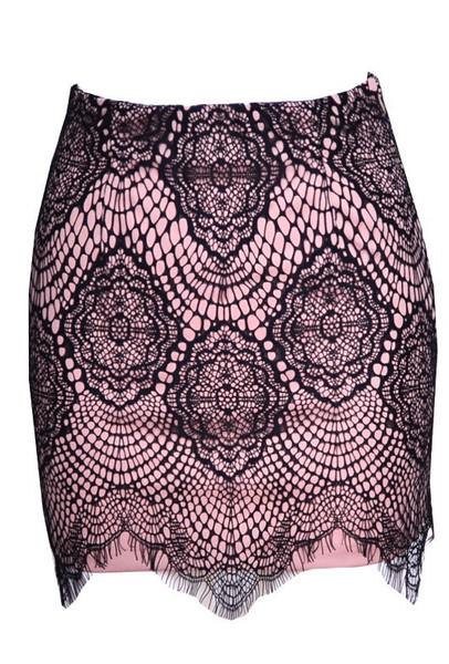 Fancy nancy lace skirt