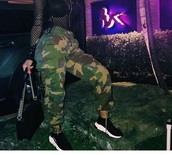 pants,green,camouflage,fall outfits,winter outfits,fashion,camo pants,amourjayda