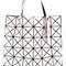 Bao bao issey miyake prism tote bag, women's, pink/purple, polyester/nylon/polyurethane/brass
