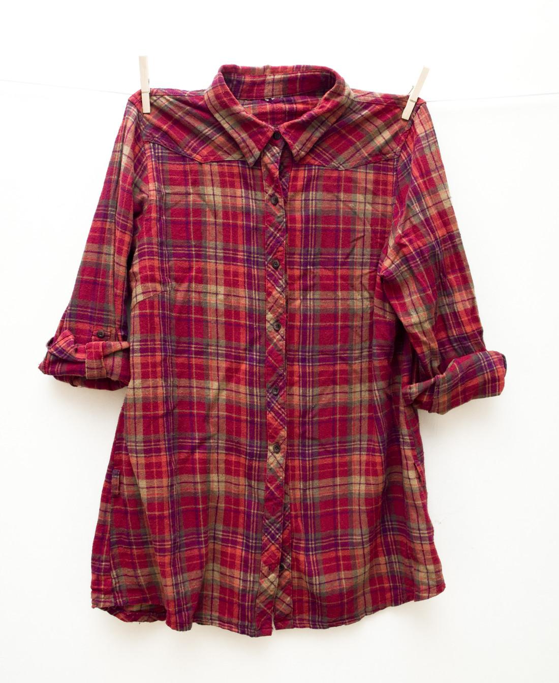 Red & purple shirt - Pop Sick Vintage