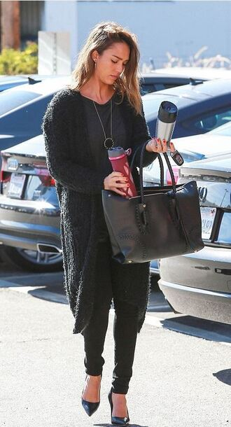cardigan fall sweater fall outfits jessica alba