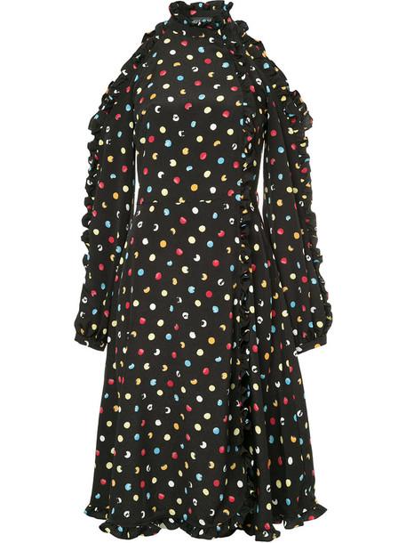 ANNA OCTOBER dress women black