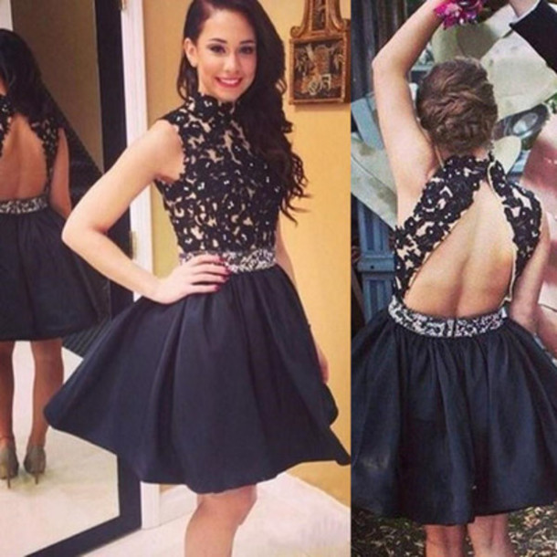 Short Formal Mini Dress