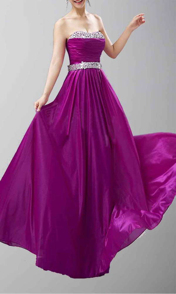 purple dress sequin dress aline prom dress long prom dress long formal dress strapless dress