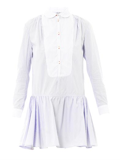 Lizbeth stripe cotton shirt dress | Thierry Colson | MATCHESFA...