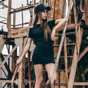dress,black dress,urban,outfit,womensfashion,totalblack,streetstyle,blogger