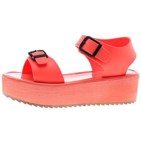 Get It Now Kiah Flatform Shoes | $39.99 | City Beach Australia