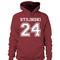 Stilinski 24 hoodie - stylecotton