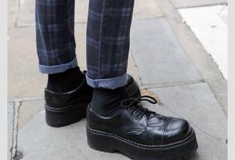 shoes platform shoes grunge soft grunge high heels loafers boat shoes flatforms