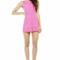 Pink jump suits/rompers - pink sleeveless romper with laser | ustrendy