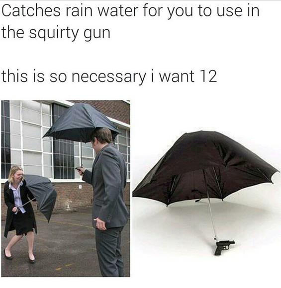funny jewels umbrella