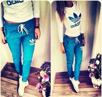 jumpsuit adidas tracksuit bottom blue adidas tracksuit adidas blue shirt