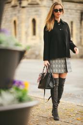 fashionism,blogger,coat,skirt,shoes,bag,sunglasses,jewels
