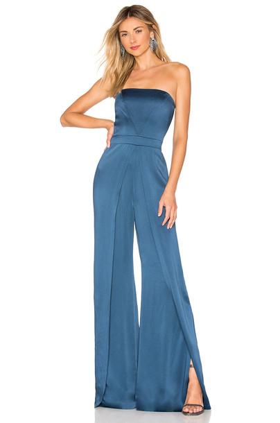 Alexis X REVOLVE Noemie Jumpsuit in blue