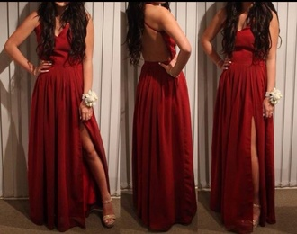 slit red dress red maxi dress long prom dress off the shoulder sparkly fitted tight mermaid