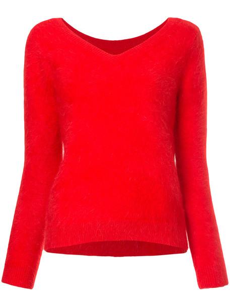 Loveless jumper women red sweater
