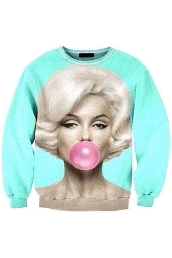 Marilyn Monroe Sweatshirt - OASAP.com