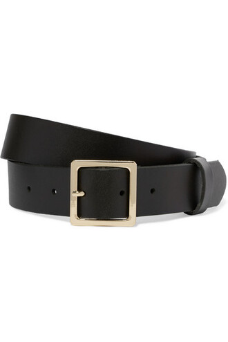 classic forest belt waist belt leather green forest green