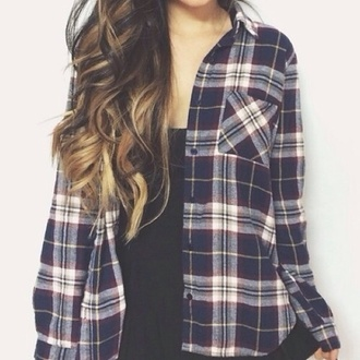 shirt flannel shirt flannel cute plaid button up plaid shirt romper blouse