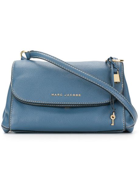Marc Jacobs boho women bag shoulder bag leather blue