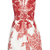 Embroidered Rose Print Deep V Dress by Monique Lhuillier | Moda Operandi