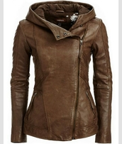jacket,brown,leather jacket,clothes,girl,coat,leather,hooded,side zipper,sidezip,winter outfits,spring,fall outfits,summer,fashion,biker,hood,fall jacket,brown jacket,brown jacket with hood,hooded leather jackets,hooded jacket,autumn jacket,learher,brown winter coat,brown leather jacket,leather coat,collar,internet,france